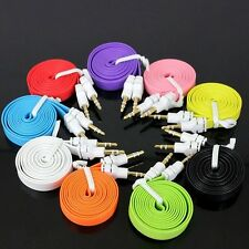 3.5mm Aux Auxiliary Cable Cord For Apple iPhone 6S 6 iPod Touch Car Audio Stereo