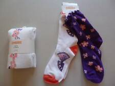 Gymboree Cherry Blossom Collection Floral Tights 2pr Socks S M L 4 5-6 10-12 NEW