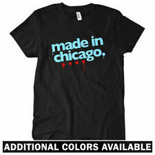 Made In Chicago Women's T-shirt - Chi-Town 773 Windy City Bears Cubs - S to 2XL