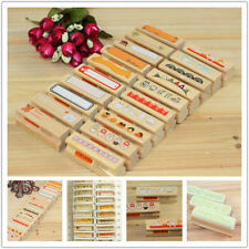 New Stamps DIY Korean Retro diary series Wooden Rubber Stamp 20 selected