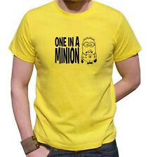 DESPICABLE ME - One In A Minion T-shirt .available up to 4 X Large