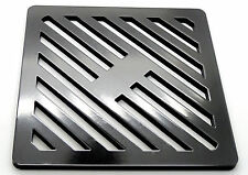 """12.5"""" Square Metal steel Gully Grate Grid Heavy Duty Drain Cover like cast iron"""