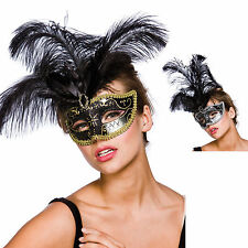 Ladies Vicenza Eyemask Fancy Dress Halloween Accessory TV Film Party One Size