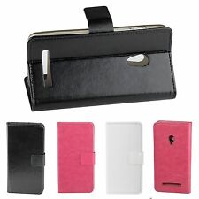 "NEW Original 5.0"" Stand Flip Case PU leather Cover For Asus zenfone 5 smartphone"