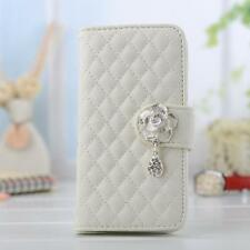 Flower New Luxury PU Leather Wallet Flip Stand Case Cover For iPhone5 5S HB#2-5W