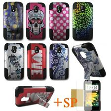 Hybrid Heavy Dual T-stand Phone Case Cover for ZTE Majesty Z796C N9511 Source D1