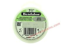 Bright/Clear Beadalon 7 Strand Beading Wire