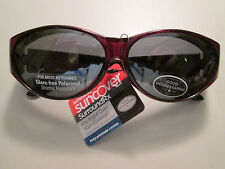 Ladies Suncover Good Housekeeping Sunglasses Fits Over RX Glasses Retails $19.99
