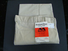 Quality 80s Vintage Mens Casual Lightweight Summer  CreamTrousers 30,32,34,36