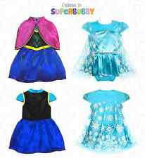 BABY GIRL CLOTHES DISNEY FROZEN ELSA DRESS OUTFITS SETS 0-3-6-12-18-24-3 MONTHS
