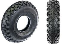 3.00-4/ 4 x 3.00 TYRE FOR ELECTRIC SCOOTER, MINI MOTO,QUADS CHUNKY TREAD BLACK