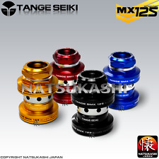 "Tange Seiki MX-125,1"" inch Old School BMX Threaded Headset - Black Blue Red Gold"