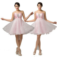 Fairy Princess Sweetheart Beaded Short Party Prom Ball Evening Cocktail Dresses