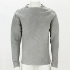 NEW Lanvin Grey Sweat Top with Shoulder Zips GENUINE RRP: £945 BNWT
