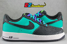 NIKE AIR FORCE 1 ATOMIC TEAL ANTHRACITE GODZILLA 488298-304 NEW SIZE: 9 10.5 11