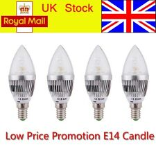 4 5 W LED Bulbs 4 6 12 X High Power E14 Light Day Warm White Bright Candle Lamp