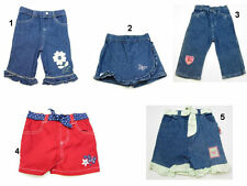 NEW Infant Baby Girls Denim Jeans Shorts Pants