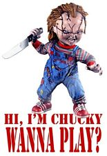 Mens T-Shirt, Chucky Funny Quote Ideal Birthday Present Gift