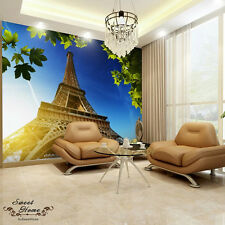 Eiffel Tower Huge Wallpaper Full Wall Mural Print Decal Wall Deco Indoor Home Au
