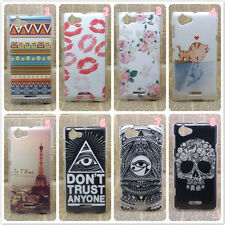 Patterned Hard Plastic Phone Fitted Case/Skin For Sony Xperia L S36H C2105 C2104