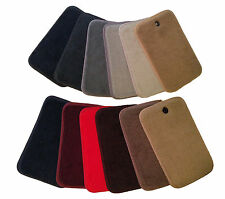 LOGO Carpet Velourtex Standard Deck Mat Floor Mat for Mercedes-Benz 300TD #V3963