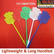 NEW COLOURED FLY SWATTERS- Pest Control Bee Mosquito Bug Flying Insect Catcher