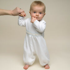 "Baby Beau & Belle ""Harrison"" Long Sleeve Boys cotton christening Jumpsuit"