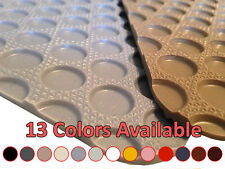 1st & 2nd Row Rubber Floor Mat for Maserati Spyder #R7920 *13 Colors