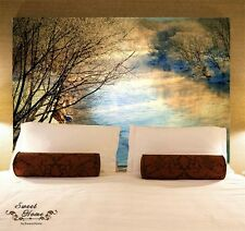 Sunset Creek Landscape Full Wall Mural Decal Print Wallpaper Home Deco Indoor Au