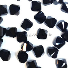 4mm Jet (280) Genuine Swarovski crystal 5328 / 5301 Loose Bicone Beads