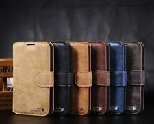 Genuine G Phoenix Leather Wallet Case Cover For Samsung Galaxy Note 2 N7100