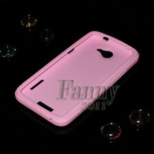 soft pure Silicone Case Skin Cover for HTC One X / ONE XL / S720E / EVO ONE