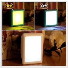 Energy Save Night LAMP LIGHT CONTROL LED Bed Wall Plug-In 110-220V high quality