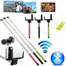 Wireless Bluetooth Monopod Remote Extendable Handheld Tripod Self Timer Camera