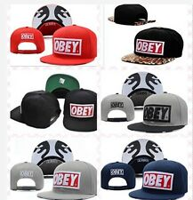 "NEW Hot ""OBEY "" baseball Snapback Hats Hip-Hop adjustable bboy Cap"