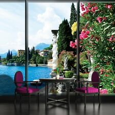 PHOTO WALL MURAL WALLPAPER WALLCOVER HOME DECOR WINDOW VIEW OF THE SHORE 494VE