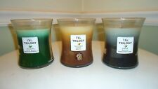 Woodwick Trilogy Candles ~ You Choose