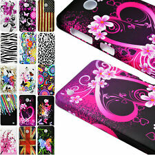 Flower Plastic Shield Hard Cover Case Skin Protective For Nokia Mobile Phone