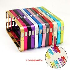 Slim Ultra Thin Aluminum Metal Frame Bumper Cover Case For Apple iPhone 5 5S 5th