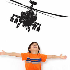 Apache Helicopter - Vinyl Wall Art Decal