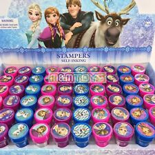 New Disney Frozen Anna Elsa Olaf  Self-Inking Stamps Birthday Party Favors