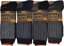 Mens Ultimate Kato Work Socks Boot Safety Sock Size 6-11 Cushion Sole