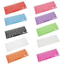 "New UK EU Keyboard Cover Skin For Apple MacBook Air Pro Mac Retina 13"" 15"" 17"""