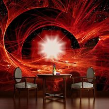 PHOTO WALL MURAL WALLPAPER WALLCOVERING HOME DECOR COSMIC TWIST RED COSMO 179VE