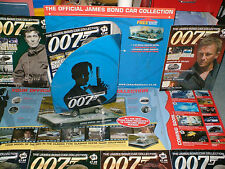 JAMES  BOND  CAR  COLLECTION  MAGAZINES, 007 , MAGS