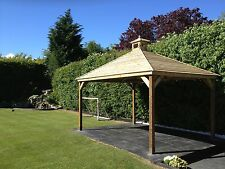 3.5M Wooden Gazebo Delivered and Hand Built Onsite