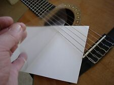 5x8 8x11 Sheets UltraThin Clear PickGuard Removable Guitar Bass Ukulele Mandolin