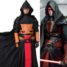 Star Wars Darth Revan Cosplay Costume Outfit Cape Halloween Party Any Size