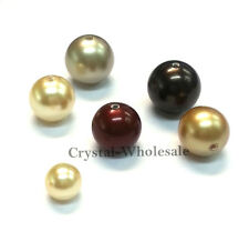 100 pcs Swarovski 5810 10mm Crystal Pearls Beads Factory Pack color [ M - W ]