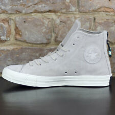 Converse Back Zip Hi Trainers/Shoes New in box Portrait Grey UK Size 7,8,9,10